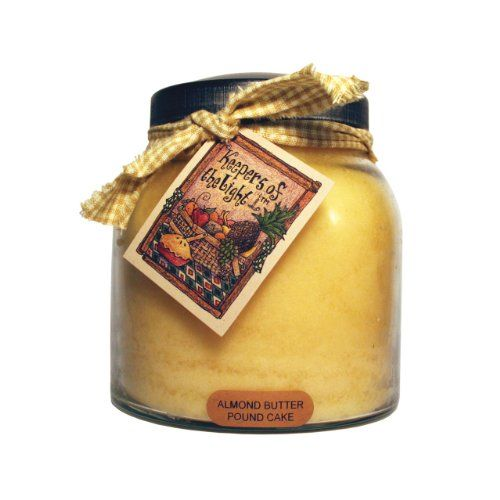 A Cheerful Giver Almond Butter Pound Cake Papa Jar Candle...