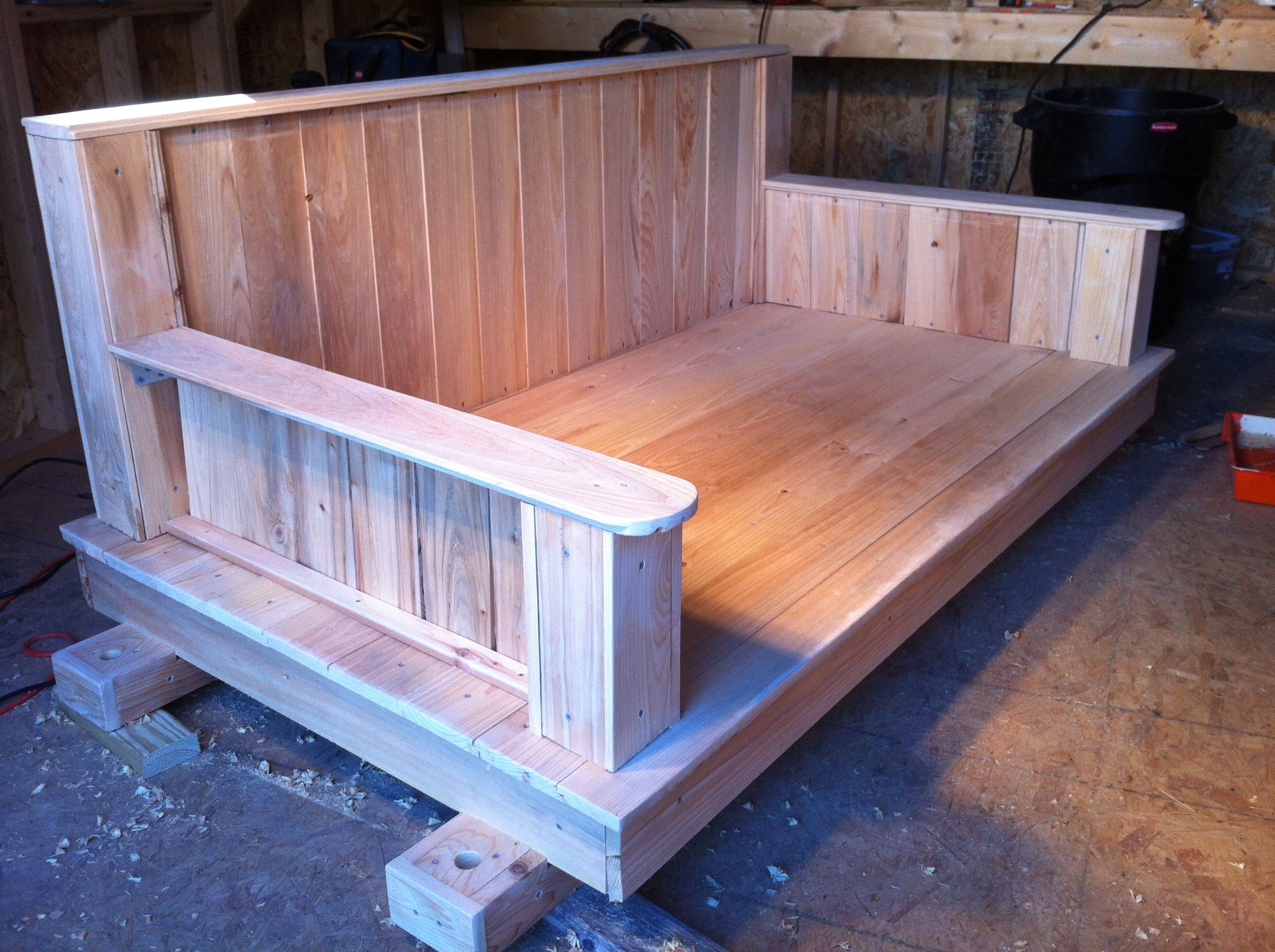 cypress hanging daybed