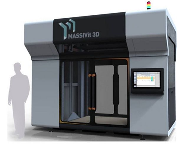 Stratasys Invests In Speedy, Supersized 3D Printer Maker