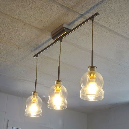 Recycle Plastic Bottles Into Lamp Shades Bottle Lights Diy Lamp Shade Bottle Pendant Light