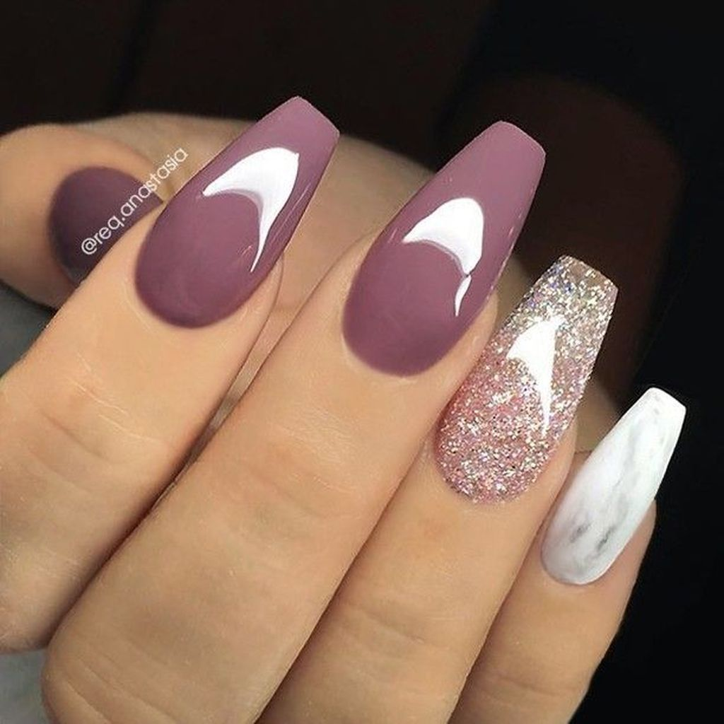 37 Pretty Nail Designs Ideas For Spring Winter Summer And Fall