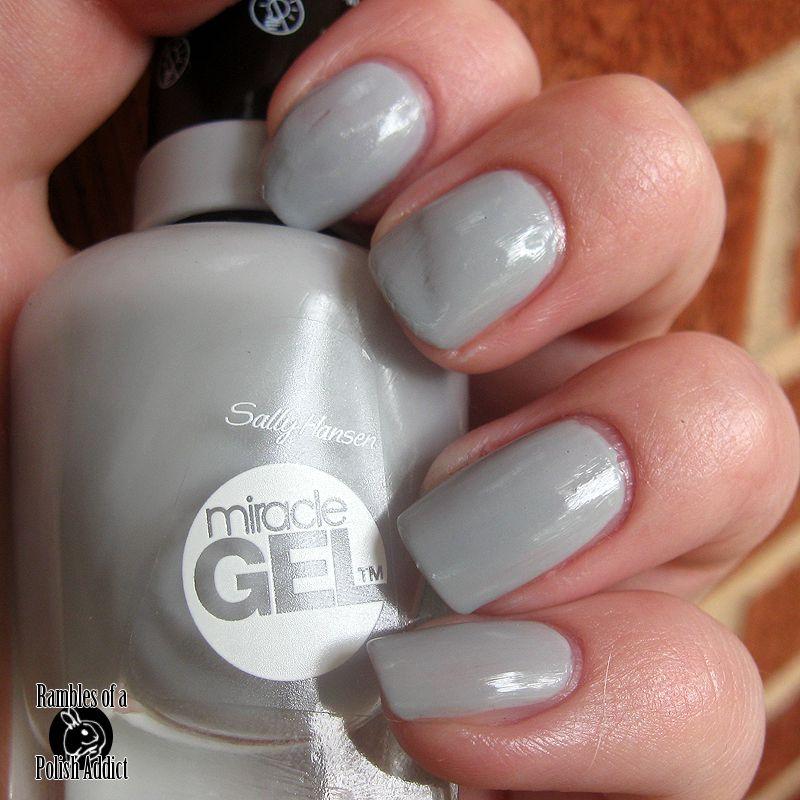 Sally Hansen Miracle gel in Greyfitti | Nail Colors | Pinterest