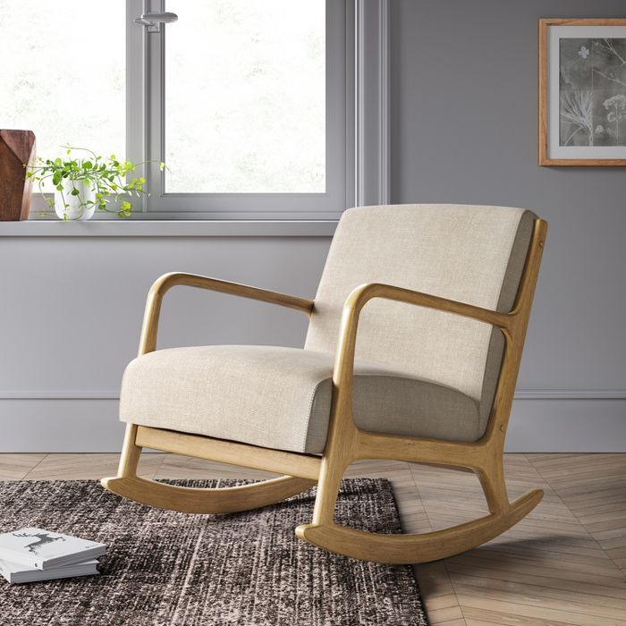 esters rocking chair  project 62™  target  wood arm