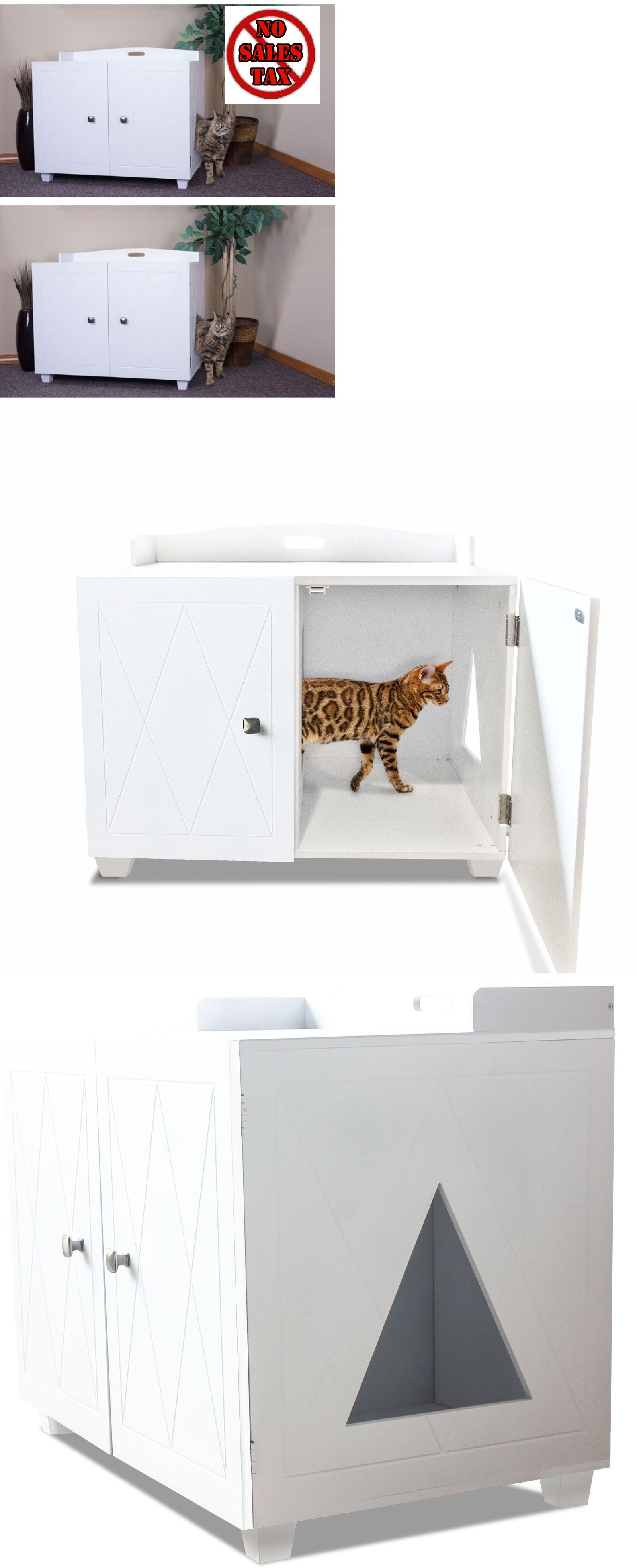 litter box furniture cat enclosed covered. animals cats enclosed litter box furniture cat kitty pet large hidden enclosure covered wood