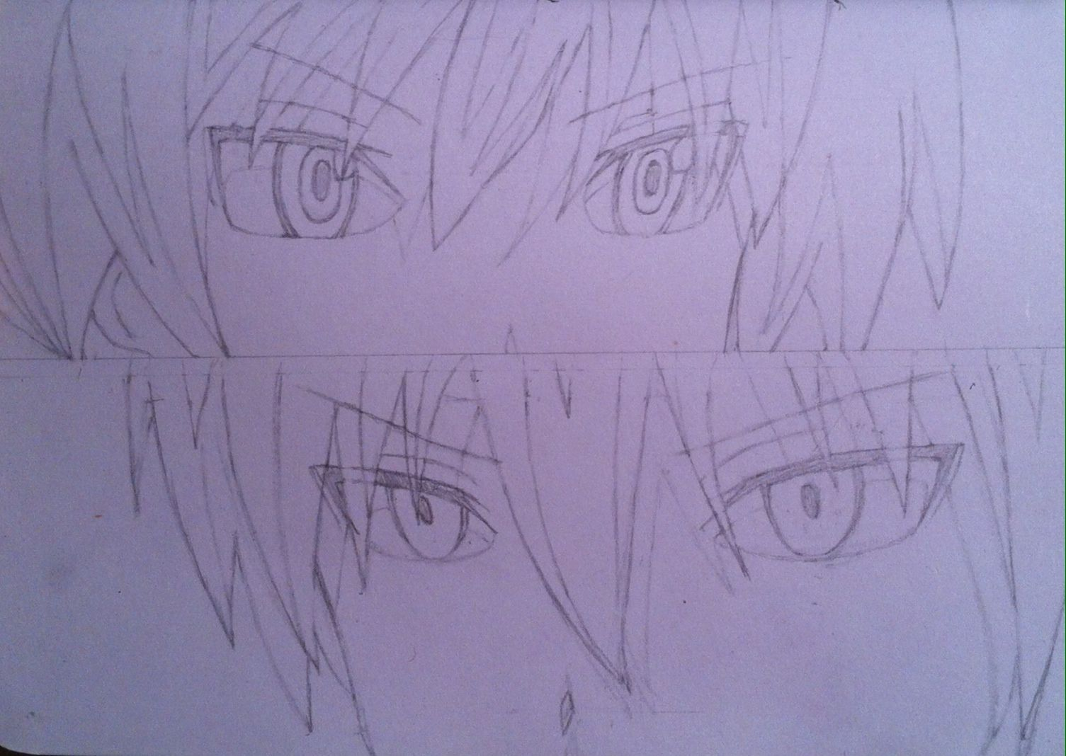 Nagisa vs Karma Assassination Classroom sketch by Ren Altair   I ...