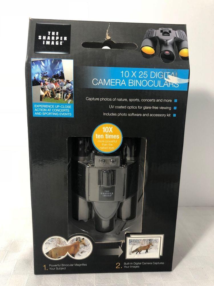 Sharper Image 10x25 Digital Camera Binoculars In 2018 Ebay