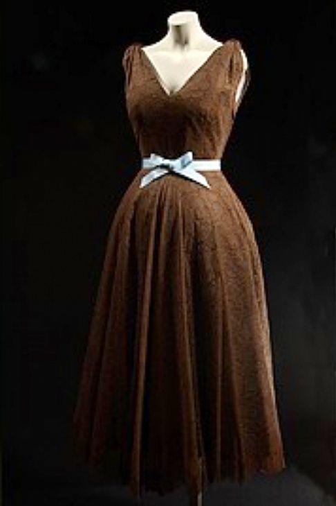 Robe de cocktail 1950