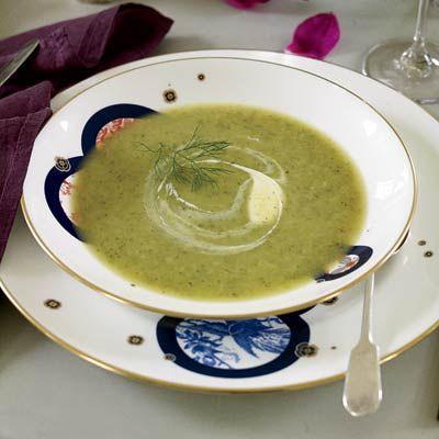 Zucchini-and-Fennel Soup  - Delish.com