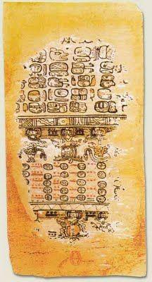 UN LIBRO ANTIGUO EN LA BASURA: EL CÓDICE PARÍS. Esta joya de la antigua cultura maya fue encontrada en la basura.