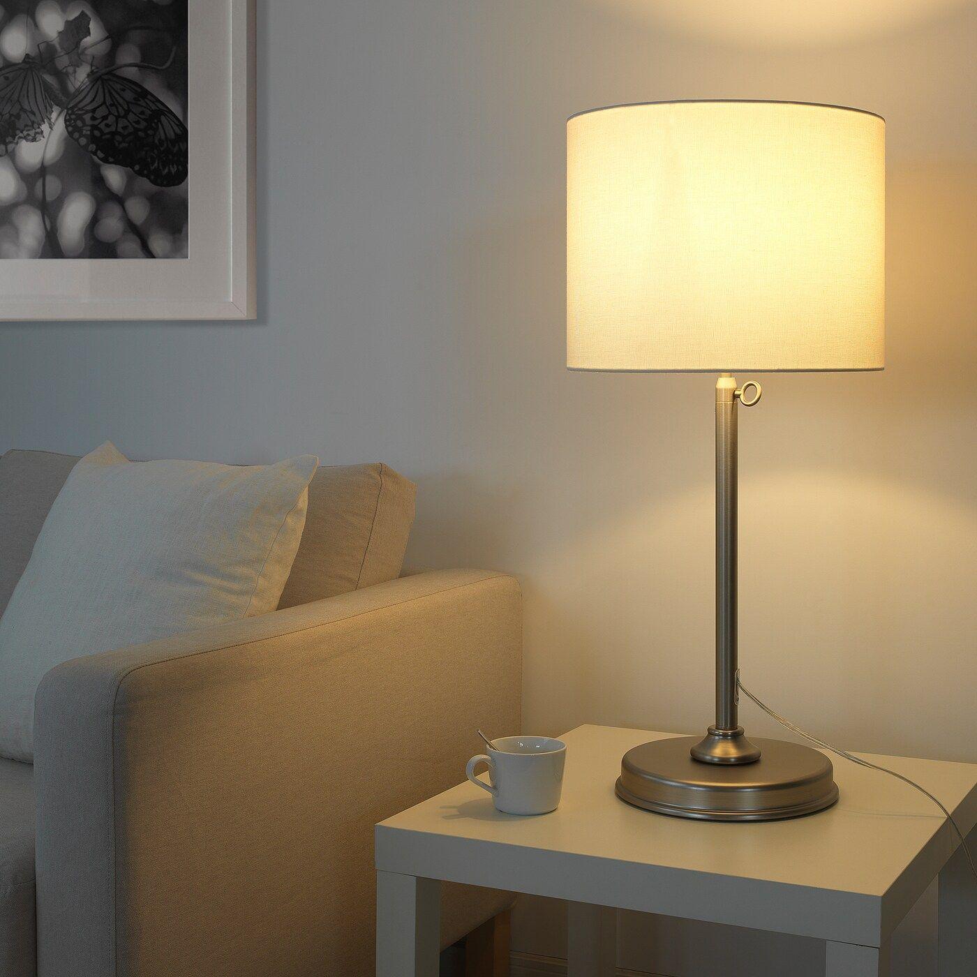 Ikea Milleryr Table Lamp In 2020 Table Lamp White Table Lamp Lamp