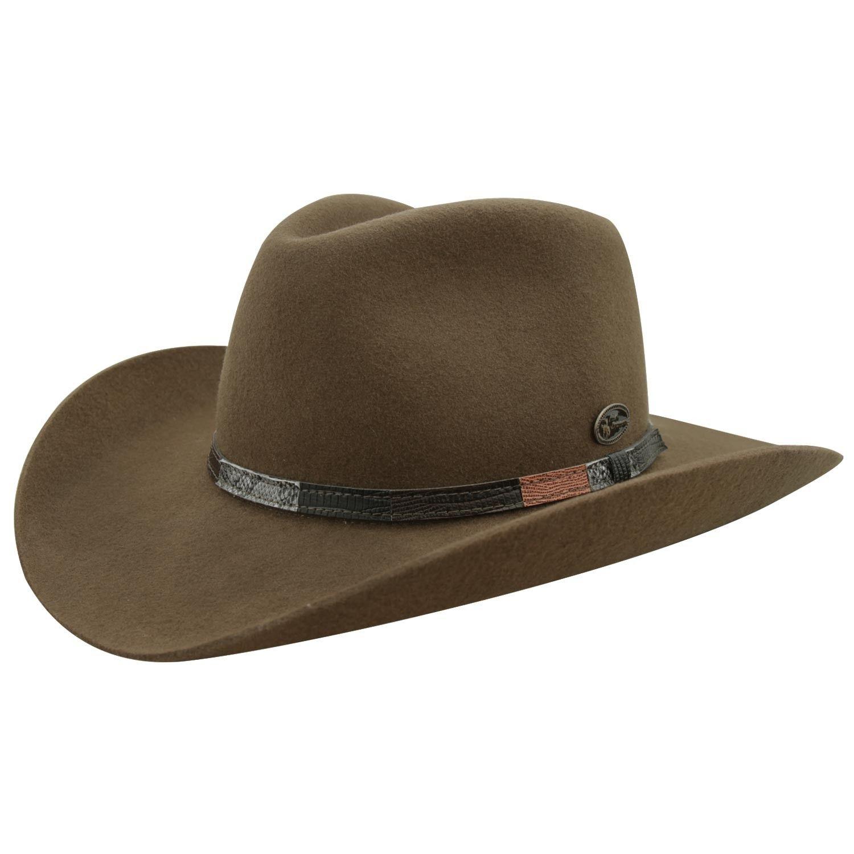 Chapéu Country Indiana Tabaco Masculino  9b2f7b39266