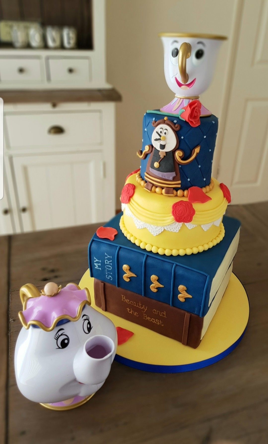 Beauty and the beast by kims cake gallery in leamington