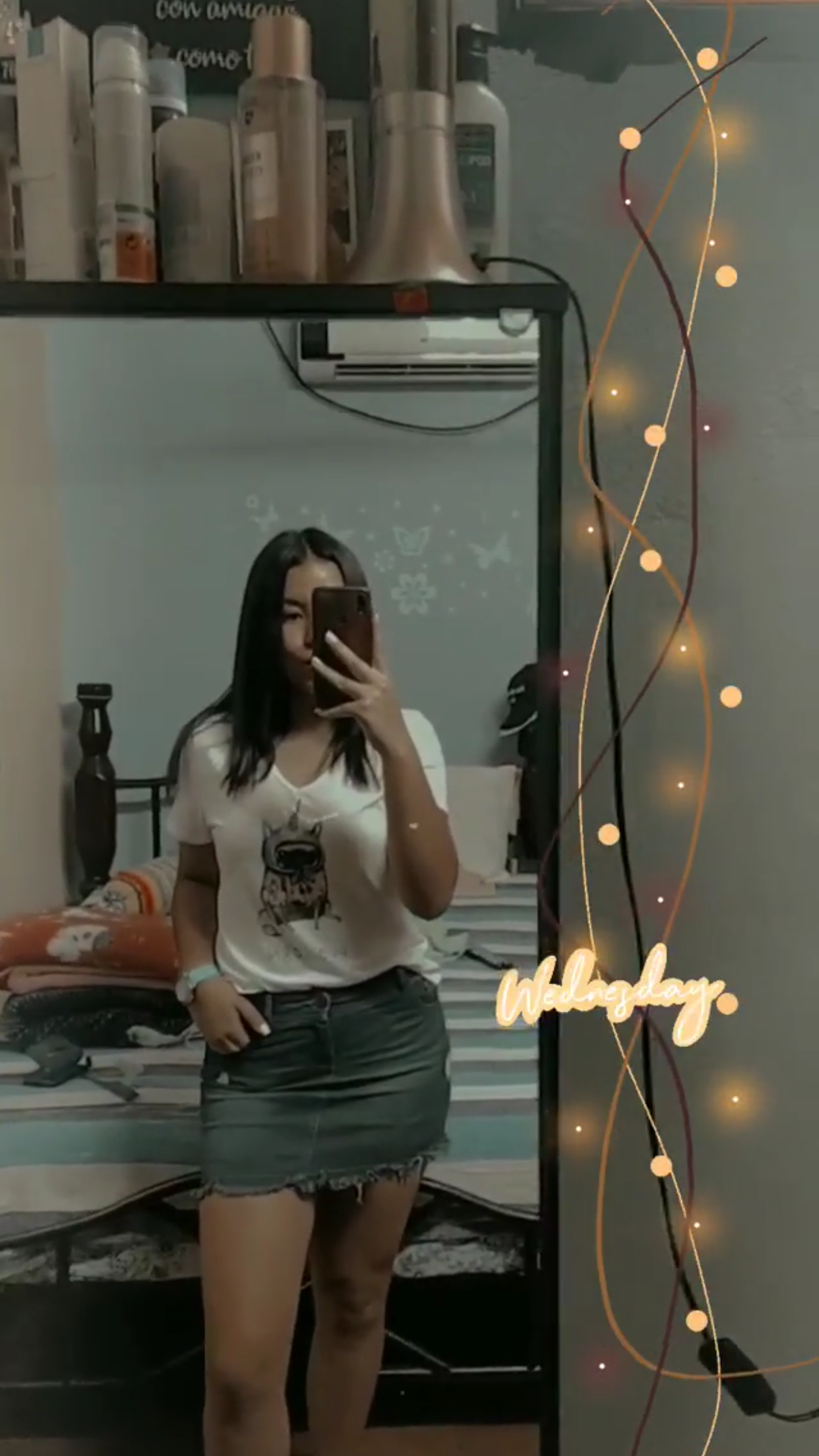 Transgender woman takes selfie in North Carolina bathroom