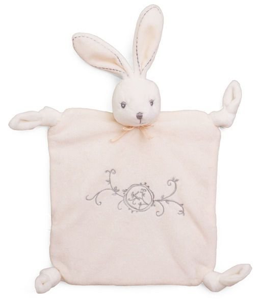 """Kaloo Perle BLUE Chubby Rabbit 8/""""//20cm small plush toy baby safe boxed gift NEW"""