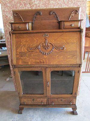 Excelente Muebles De Roble Antiguo En Ebay Adorno - Muebles Para ...