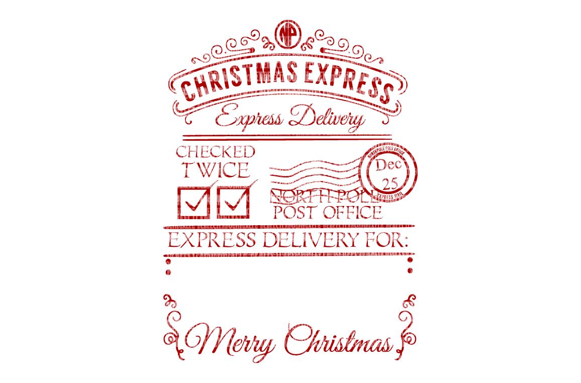 Christmas Express, Santa Sack, SVG, PNG (33952) SVGs