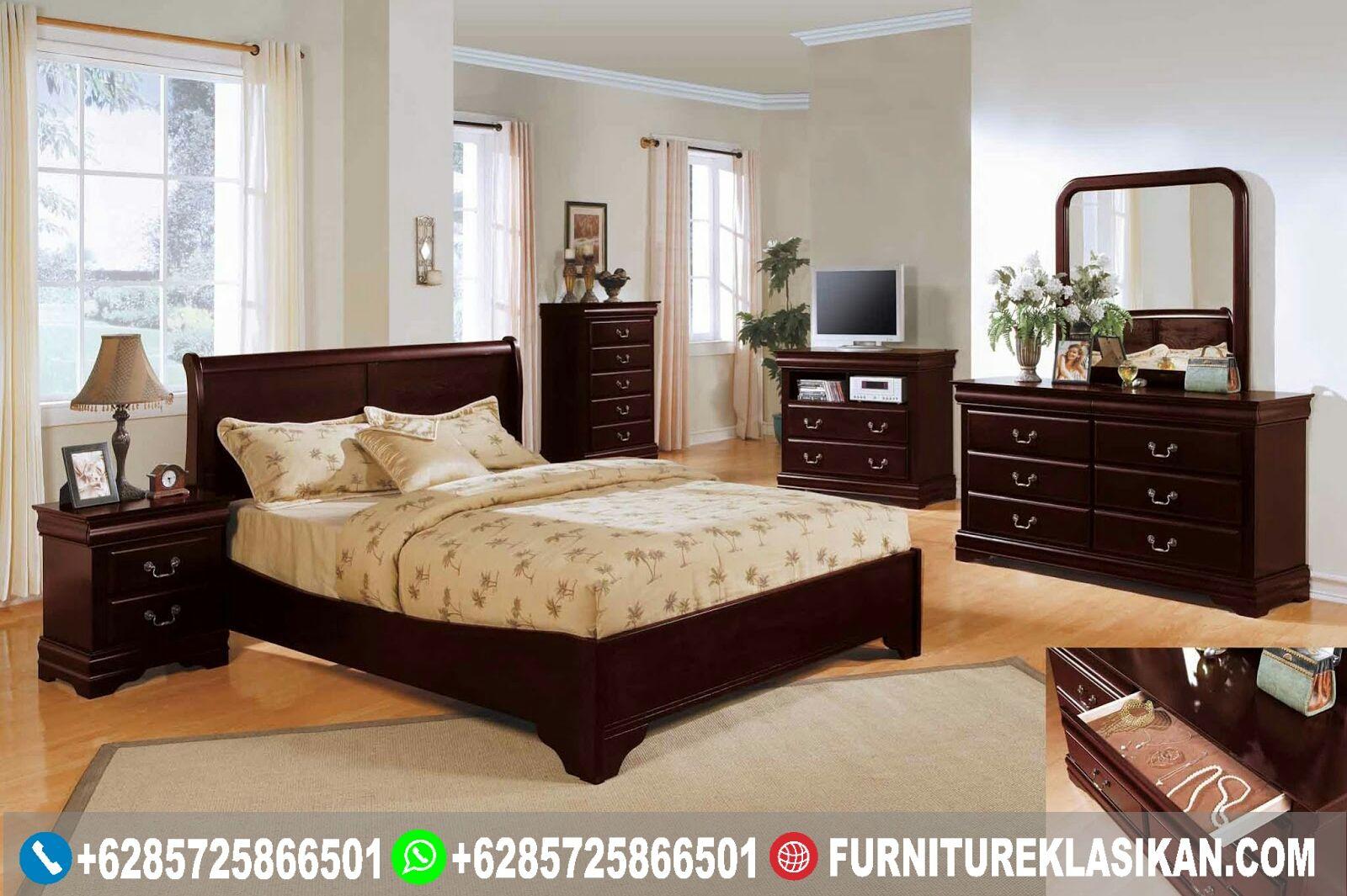 set tempat tidur jati minimalis, contoh desain kamar tidur mewah