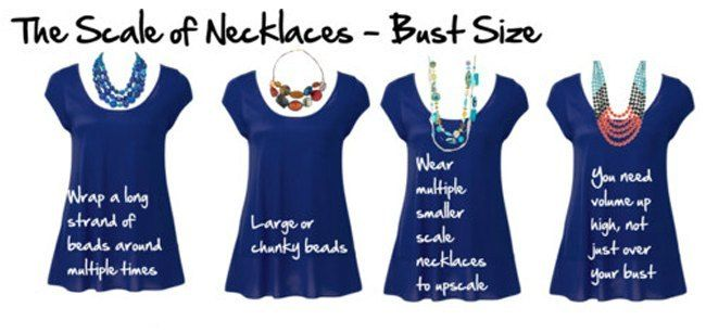 8 Fool Proof Fashion Tips For Large Bust Women Balance Your Necklines