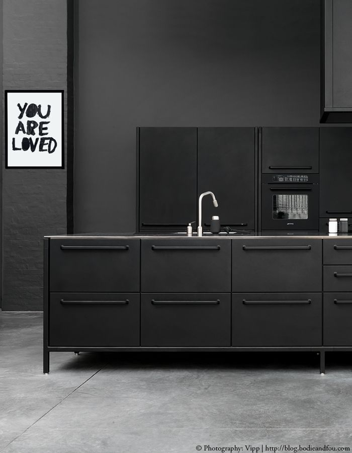 5 Inspiring & Stunning Black Kitchens Http://blog