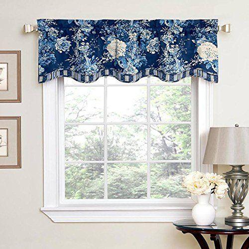 Pinterest & Amazon.com - Waverly Ballad Bouquet Floral Window Valance ...