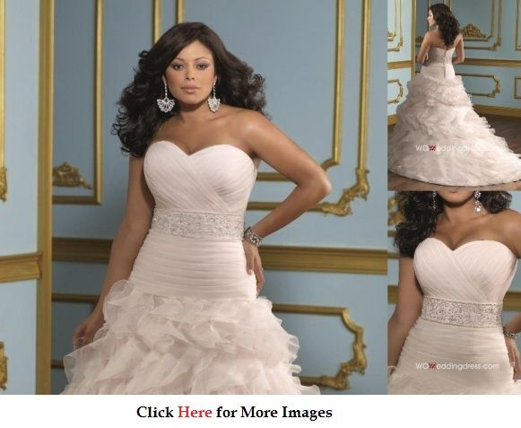 Cheap Plus Size Wedding Dresses Or Affordable