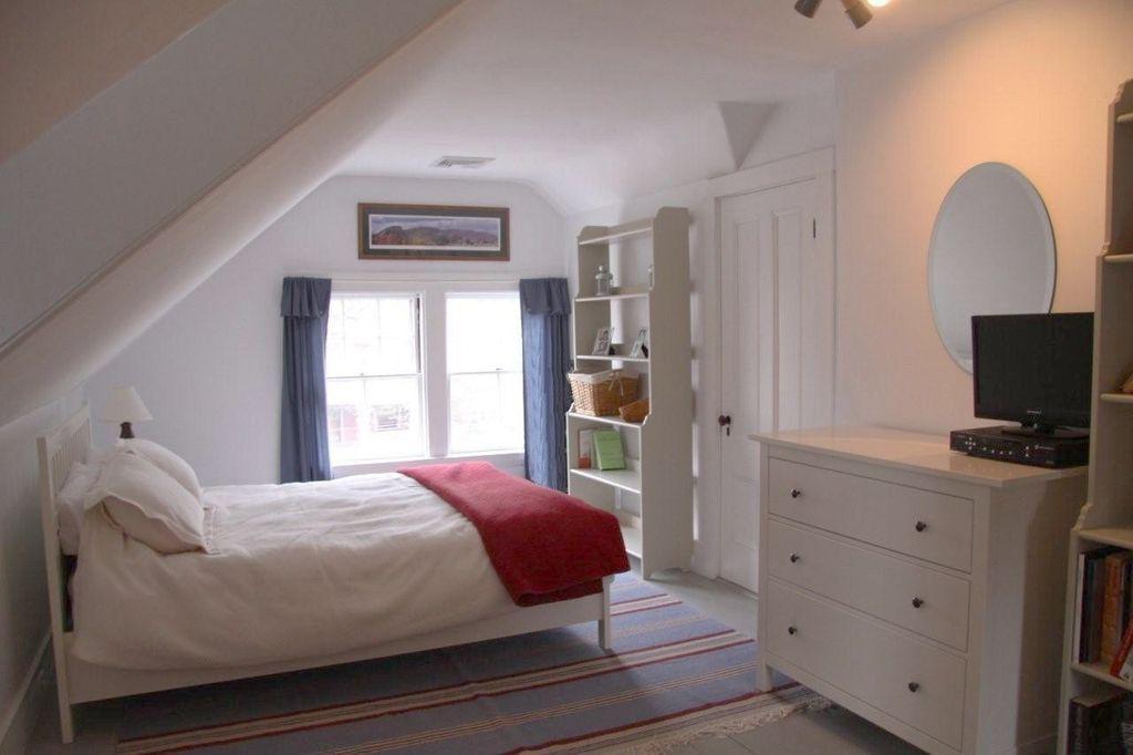 Cottage Guest Bedroom With Ikea Hemnes