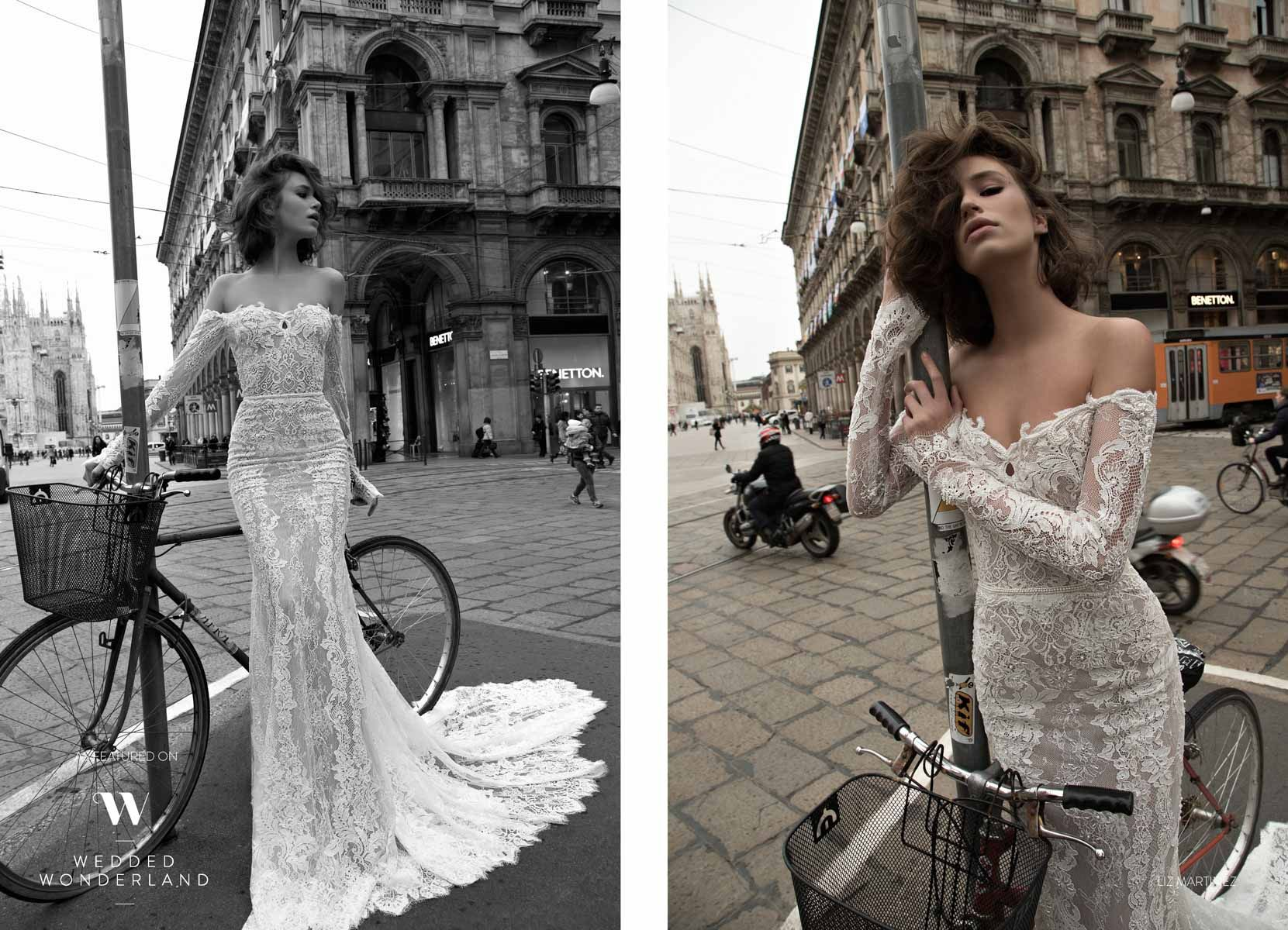 Liz martinez wedding dress  Wedded Wonderland  sposa  Pinterest  Bridal collection Fall