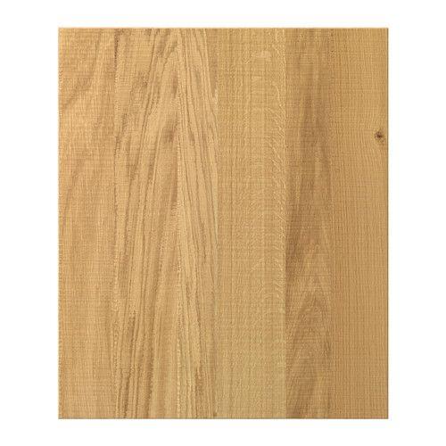 PERFEKT NORJE Deckseite für Wandschrank IKEA Die durchscheinende Holzmaserung sorgt für warmen, natürlichen Ausdruck.