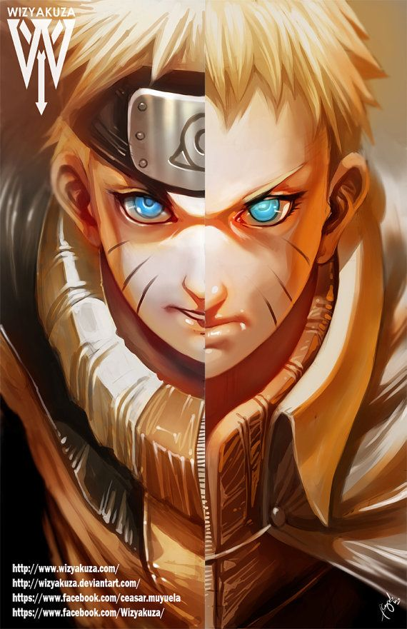 25 Half And Half Graphics You Ll Want In Your Life Anime Anime Characters Naruto Art