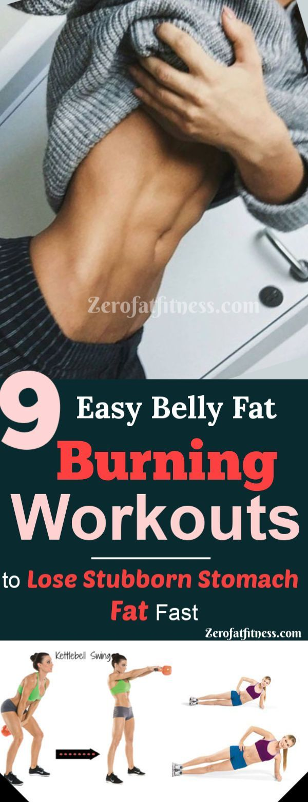 9 Easy Belly Fat Burning Exercises To Lose Stubborn