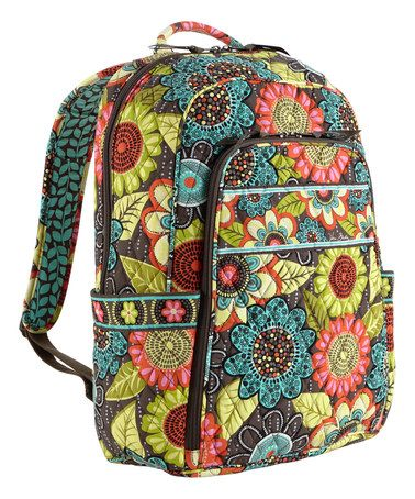 Another great find on  zulily! Flower Shower Laptop Backpack  zulilyfinds 4e5fce743d454