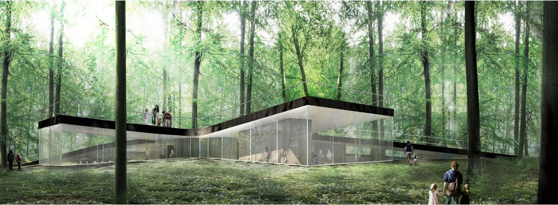 Nature Centre / EFFEKT Centre, Architecture and Drawing