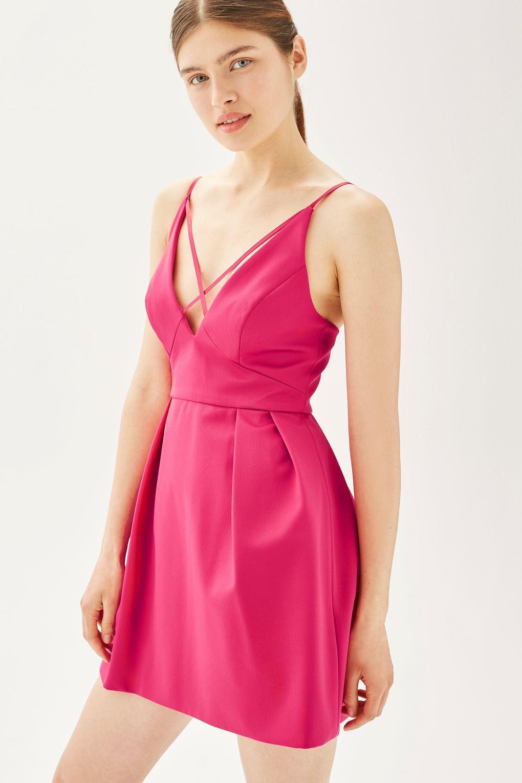 Cross Front Mini Prom Dress - Dresses - Clothing   Pinterest ...
