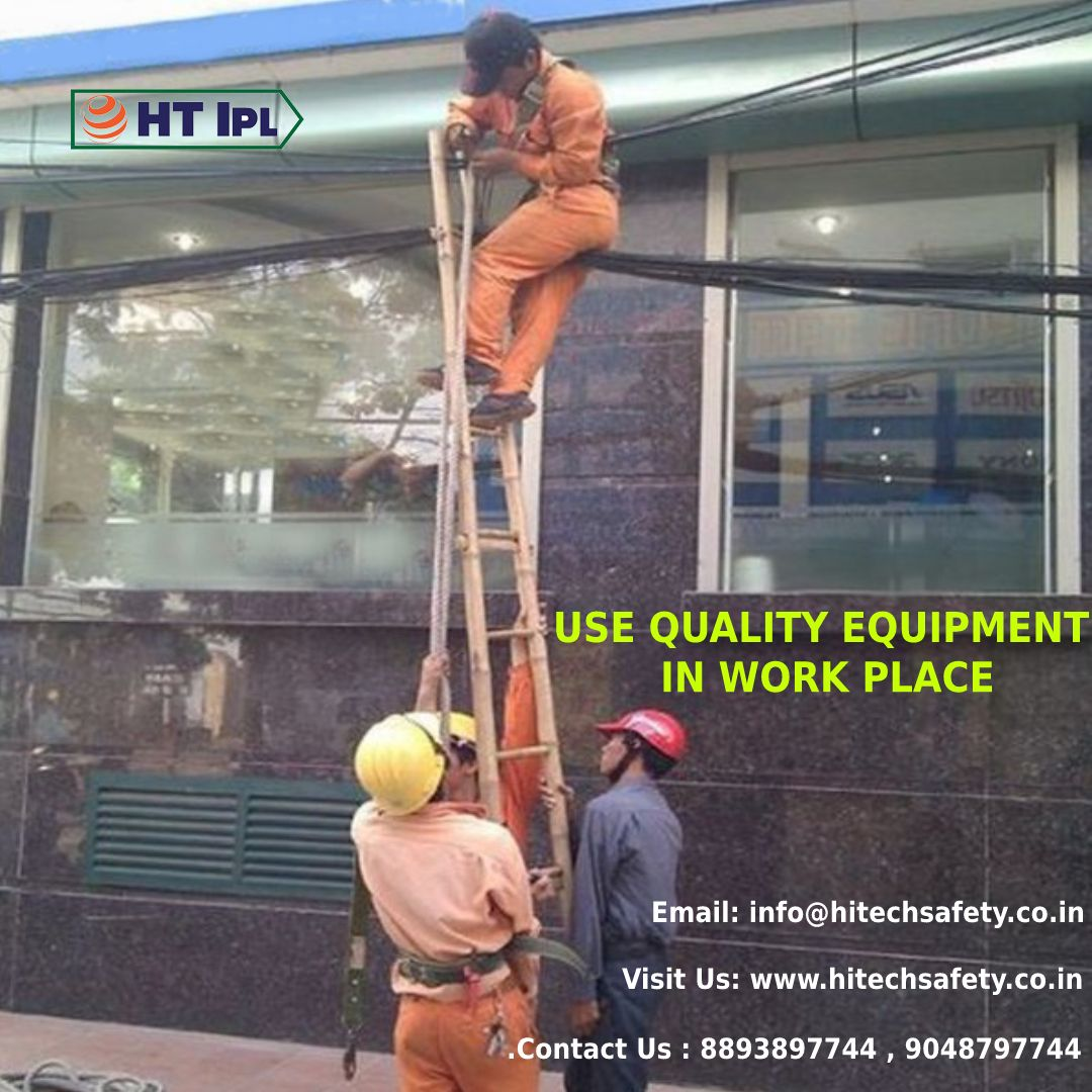 use quality equipment in your workplace and reduce risk