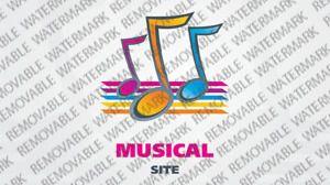 Music Portal  Logo Theme