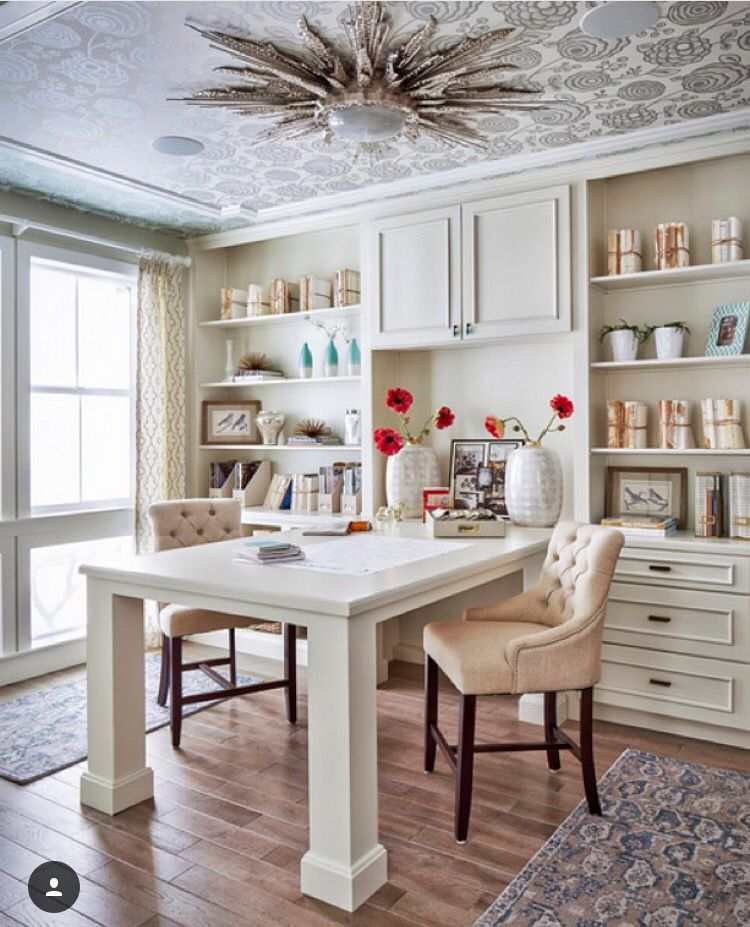 Home office space for two Home Office Pinterest Home office