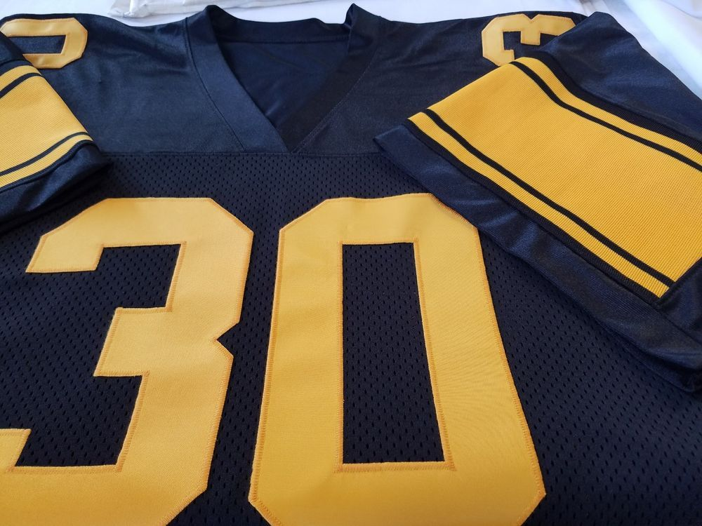 online store 32e5b 63c7a 00 Pittsburgh Throwback Football Jersey Name&Number -SEWN-ON ...