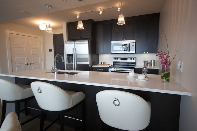 #halifax #novascotia #QEII #lottery #grandprize #condo #kingswharf #dartmouth #design #home #kitchen #kitchencounter #kitchenchairs #chairs #kitchensink #classykitchen