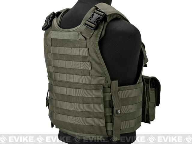Emerson Compact High Speed Plate Carrier Color Ranger Green