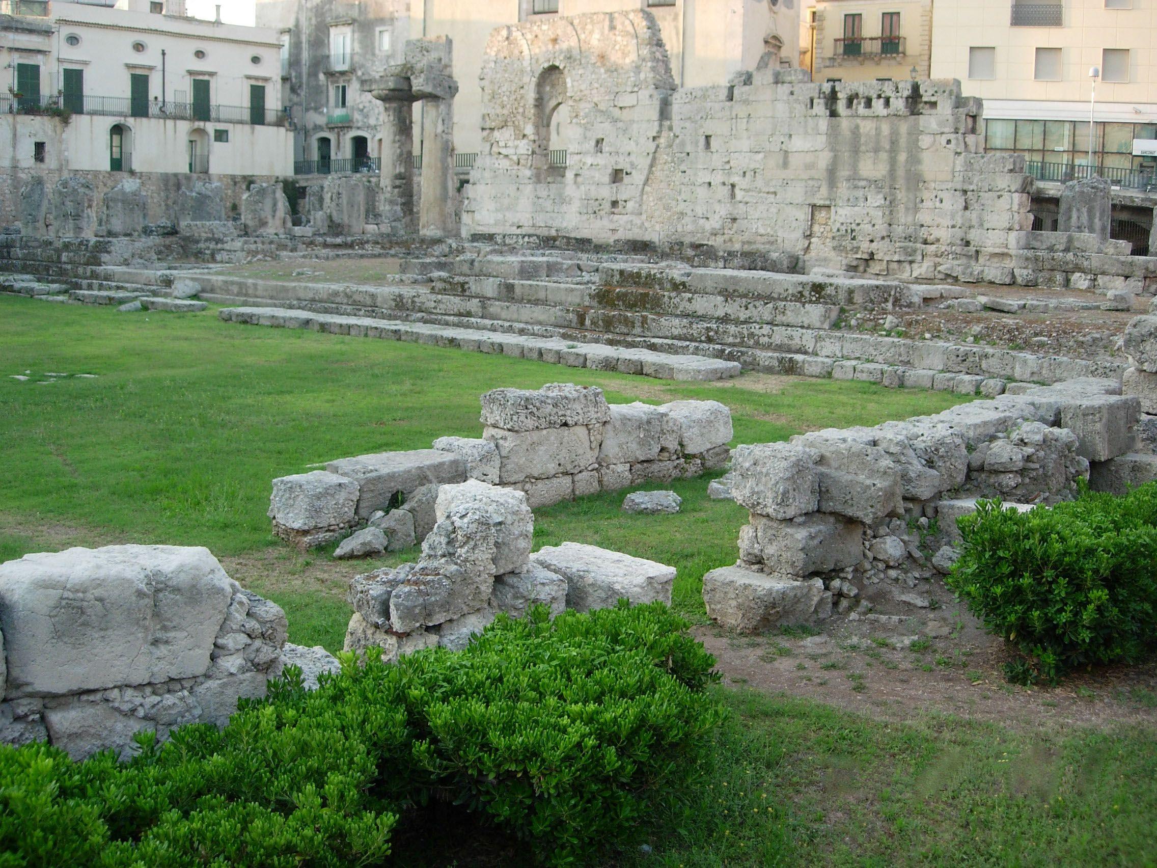 Apollo Temple. Open Space. Always open. 6th BC.