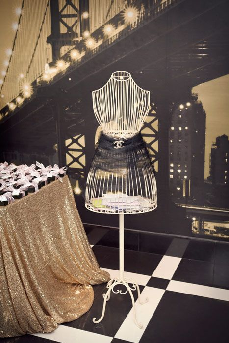 Another Nod To Coco Chanel Glam Bridal Shower Ideas Chanel
