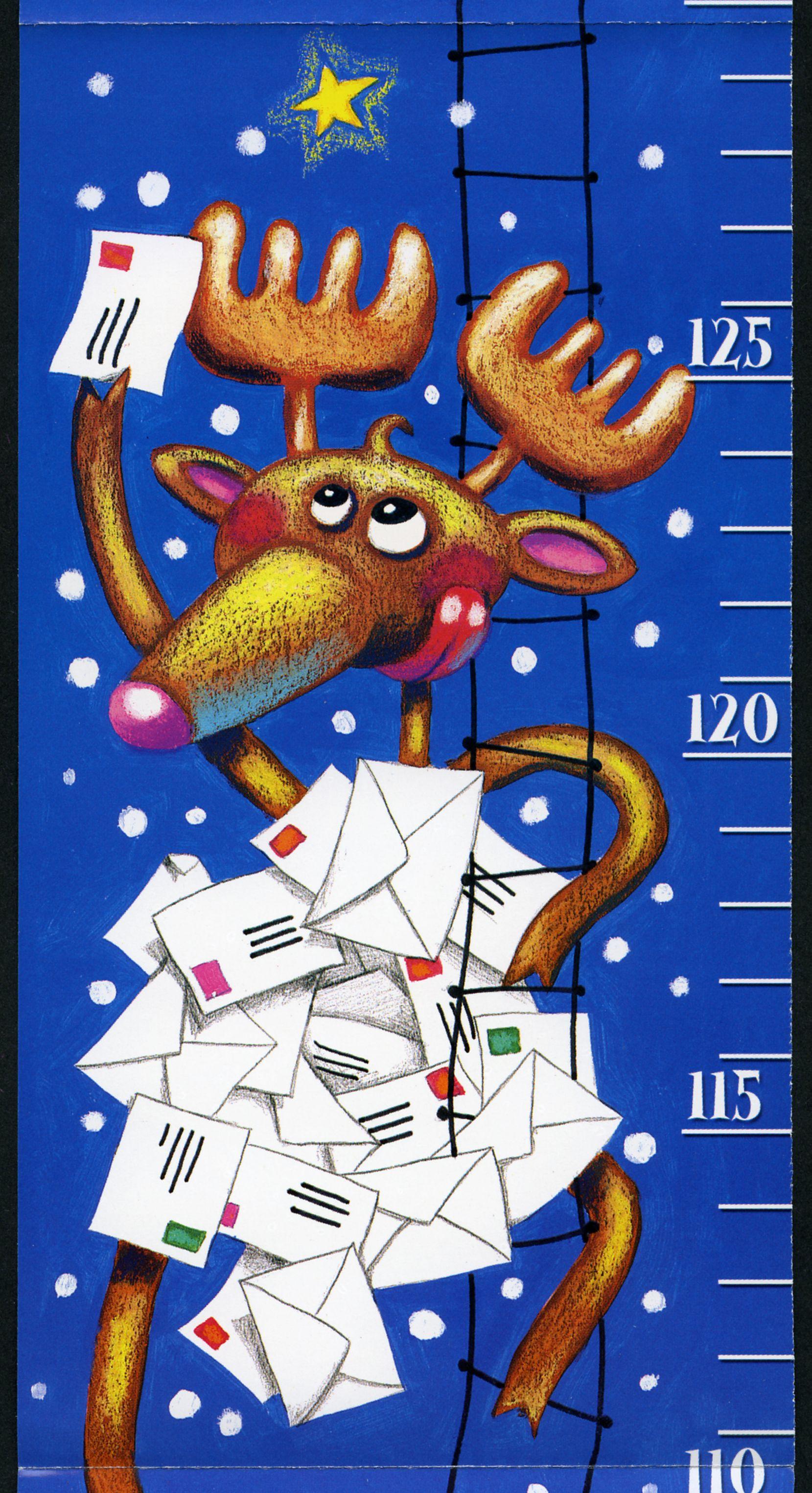 Carte postale père Noël 2002 © L'Adresse Musée de La Poste / La Poste, DR (avec images) | Carte ...