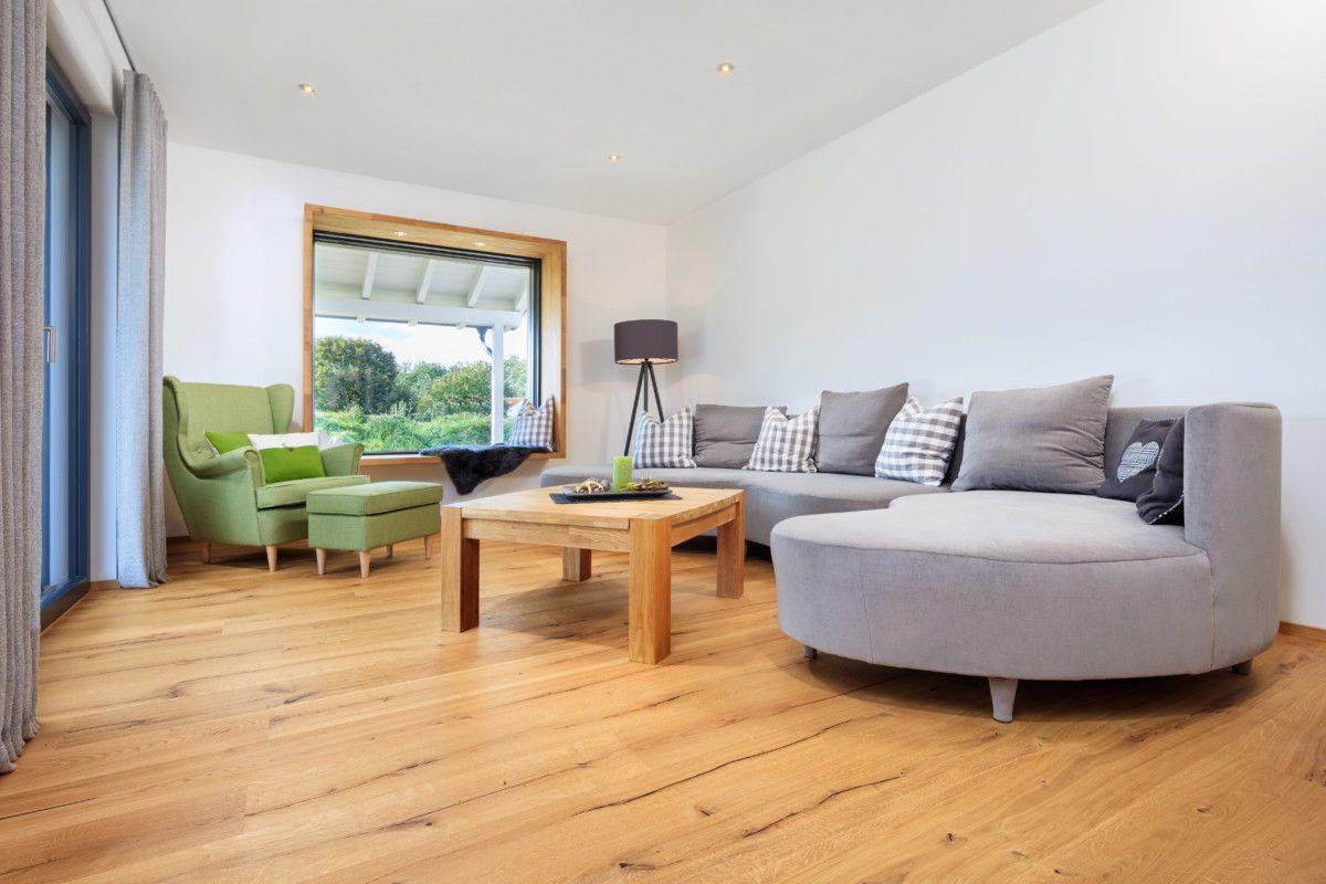 interior wohnzimmer inneneinrichtung haus bongart von baufritz hausbaudirektde - Wohnzimmer Inneneinrichtung