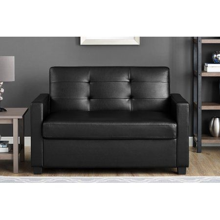 Mainstays Sleeper Sofa With CertiPUR US Certified Memory Foam Mattress,  Multiple Colors Image 4