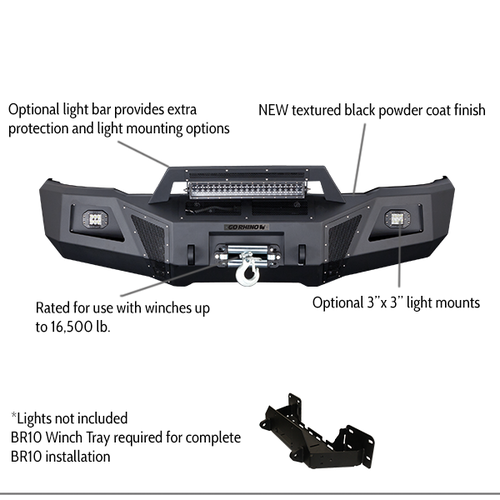 BR10 Front Bumper Replacements