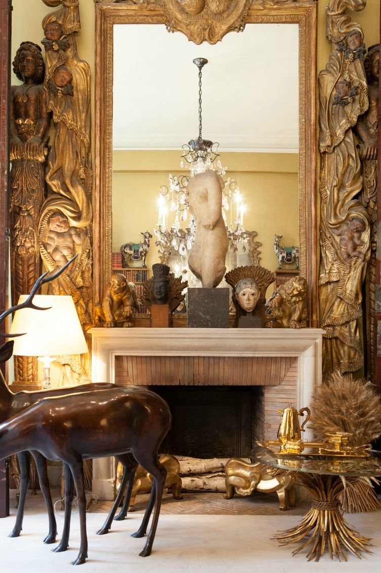 inside coco chanel 39 s apartment celebrity interiors