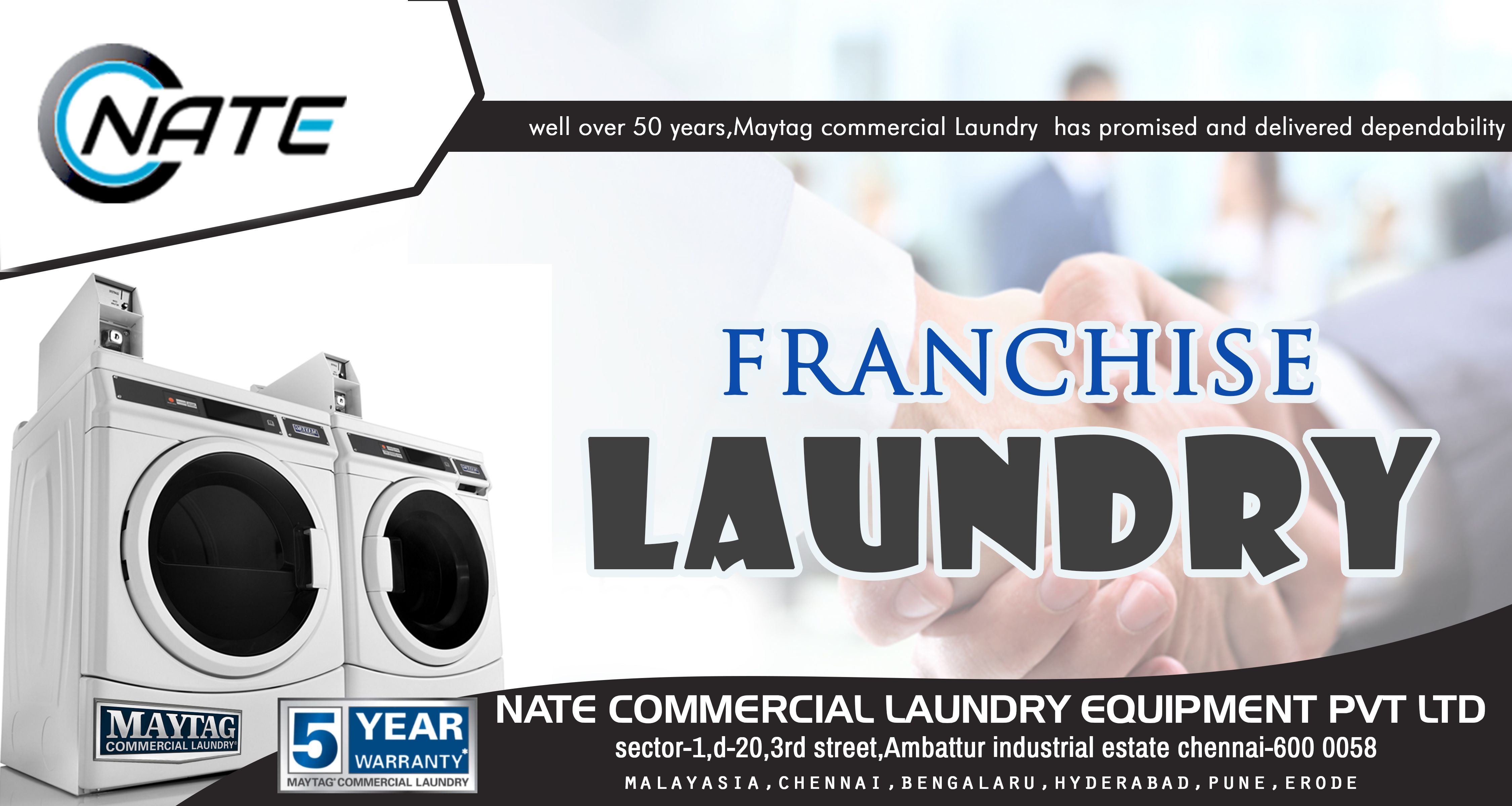 Open Your Own Laundry And Dry Cleaning Franchise Laundry