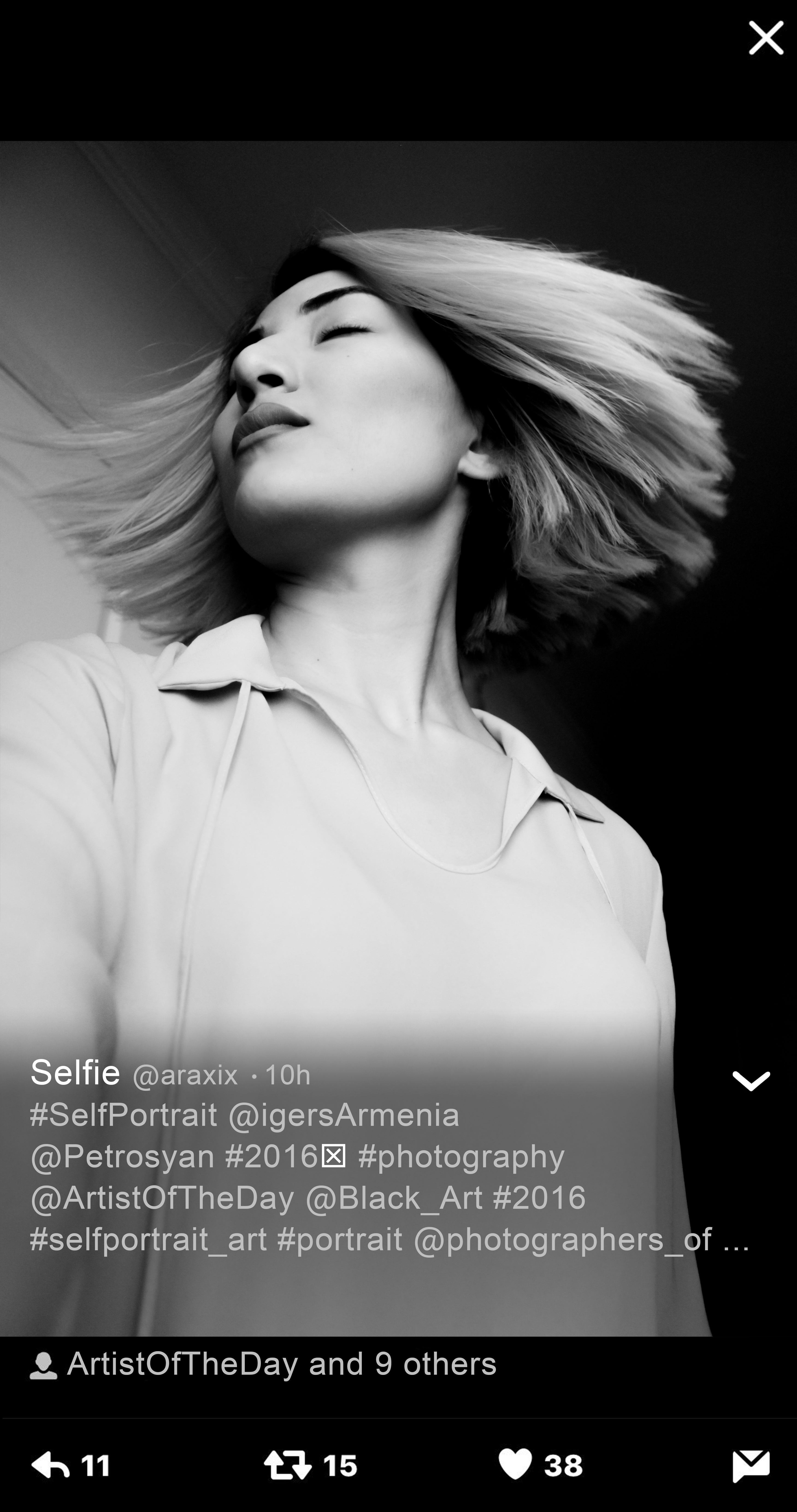 Self portrait fashion portraiture white hair girl art photography black and white monochrome by artist