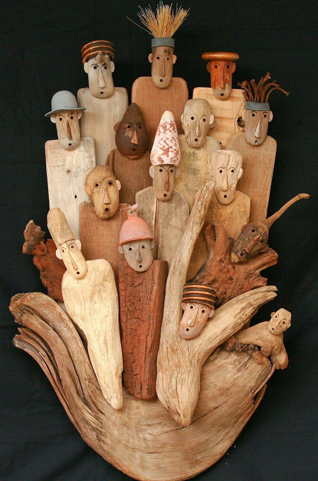 Créations En Bois Flotté atelier karibu : creations en bois flotte xavier deparis