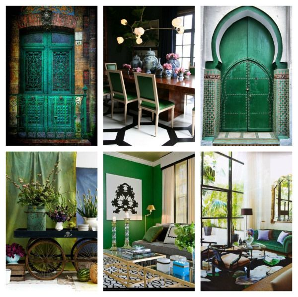 Colour Of The Year: Emerald Green